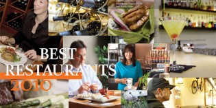 2010 Best Restaurants Editors' Choice