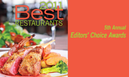 2011 Best Restaurants Editors' Choice