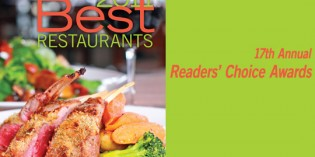 2011 Best Restaurants Readers' Choice Awards