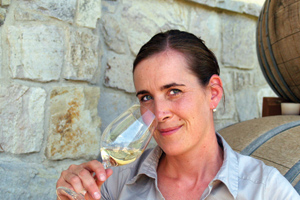 Le Vieux Pin Winemaker Severine Pinte