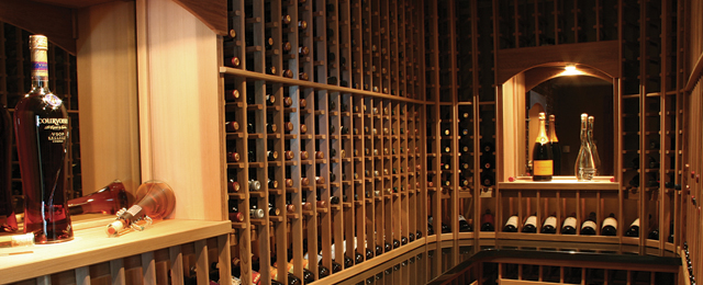 Wine cellar Okanagan Cellar Solutions