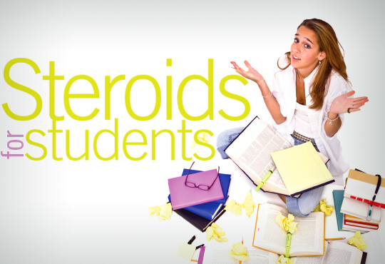 Steroids for Students