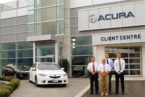 Harmony Acura Settles In