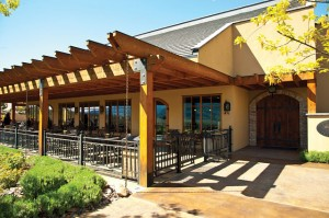 Winery: Hester Creek Estate Winery Location: Golden Mile, Oliver Architect: Robert Mackenzie Building opened: 1998 Size: 1,840 square feet Synopsis: Designed from recycled timber with local craftsman features, the tasting lounge includes an expansive patio and demonstration kitchen. The original winery building now houses Terrafina restaurant.