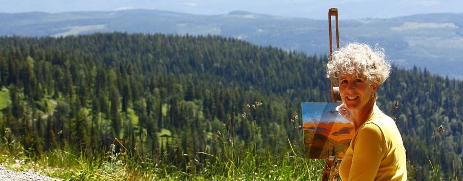 Artists Capture Mile High Wine at Silver Star
