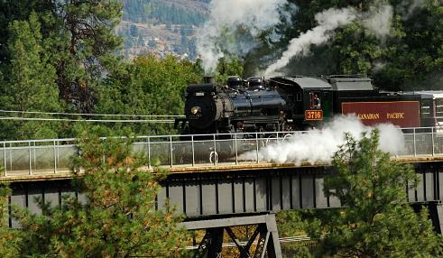 Kettle Valley Steam Railway Train Ride