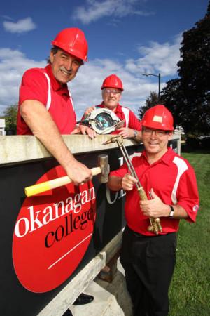 Okanagan College Campaign team