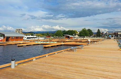 Kelowna's New Public Pier Opens for Culture Days