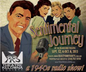 Sentimental Journey – Theatre Kelowna Society