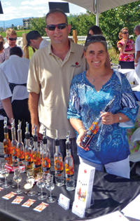 Jorg and Anette Engel of Maple Leaf Spirits