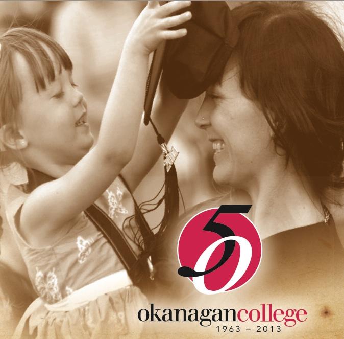 Okanagan College celebrates 50 years Sept 27