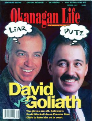 Glen Clark Okanagan Life
