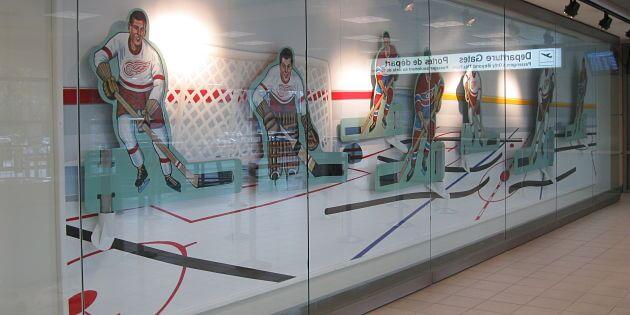 Art installation at YLW sports a retro edge