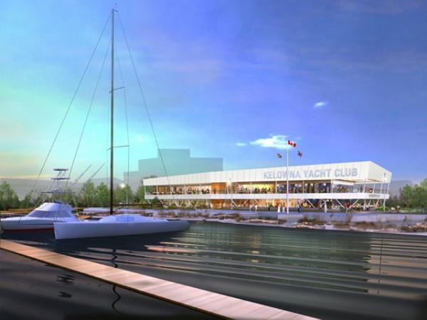 Tour the new Kelowna Yacht Club