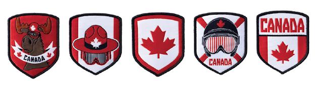 Shoulder Patch Features Moose: Columbia Sportwear Unveils 2014 Olympic Uniforms