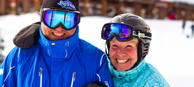For Passionate Skiers Over 50, Big White Kicks Off Master's Ski Week