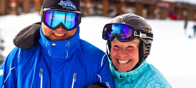 For Passionate Skiers Over 50, Big White Kicks Off Master's Ski Week