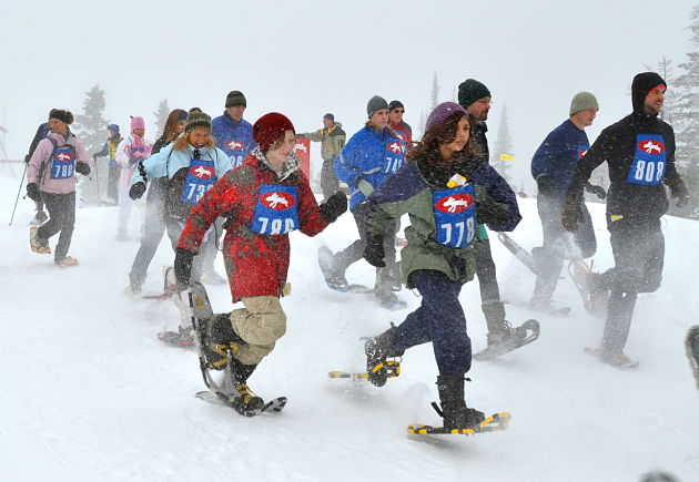 White Rabbit Snowshoe Race set for Saturday