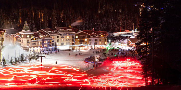 Ski resorts first Chinese New Year celebrated by hundreds