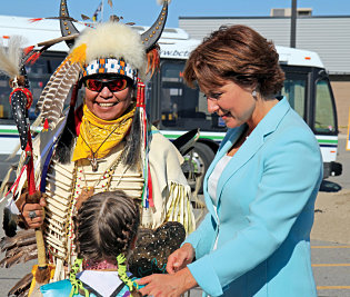 Christy-Clark-West-Bank-First-Nations
