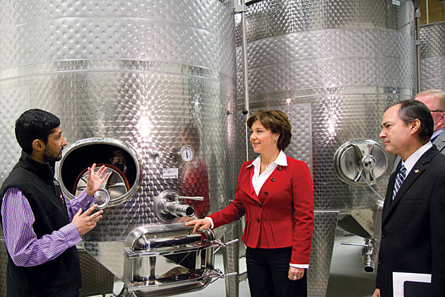 Christy-clark-tours-volcanic-hills-liquor-control_opt