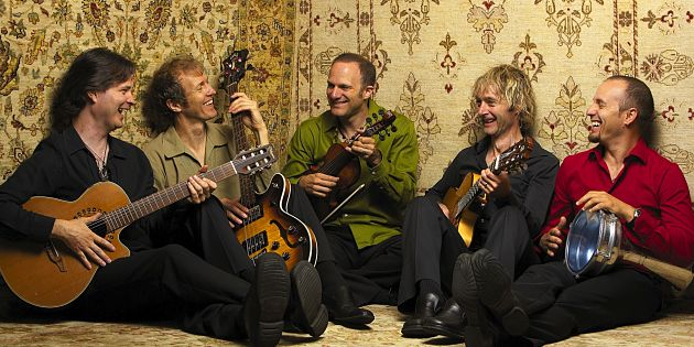 Sultans of String perform at Creekside Theatre
