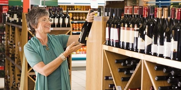 grocery store wine sales