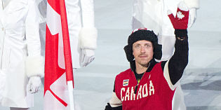 Okanagan Heros: Paralympic flags and medals