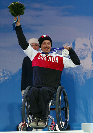 Dueck Captures Gold & Silver at Sochi Paralymics