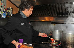Kitchen Confidential with Chef Ricardo Scebba at Ricardos