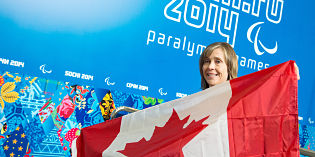 Vernon's Sonja Gaudet to carry Canadian flag in Sochi Paralympic Games