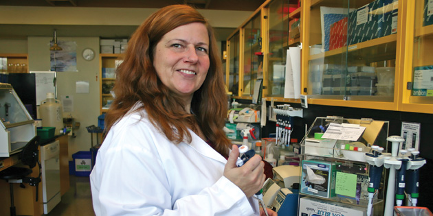 In Person: Susan Bach battles E. coli on leafy greens