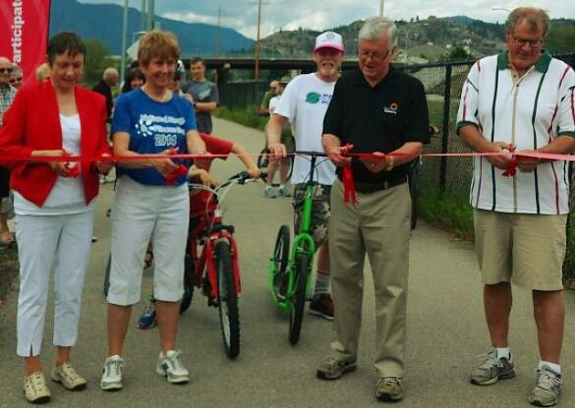 Kelowna opens phase 2 of Rails with Trails