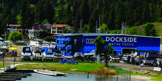 New lakefront home for Dockside Marine Centre