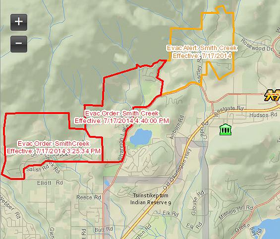 west-kelowna-fire-map