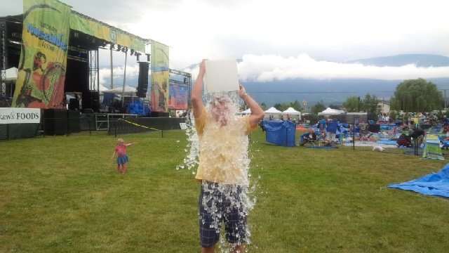 Okanagan Life Magazine Takes the ALS Ice Bucket Challenge