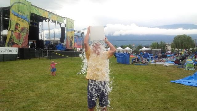 Okanagan Life Magazine Takes the ALS Ice Bucket Challenge