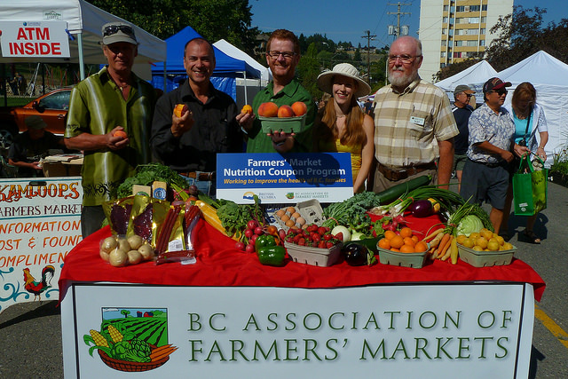 New farmers' market funds support healthy living for seniors
