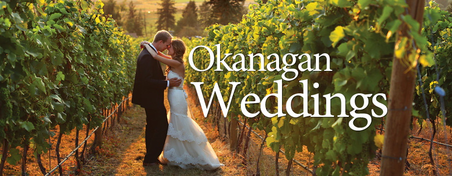 My big fab Okanagan Wedding