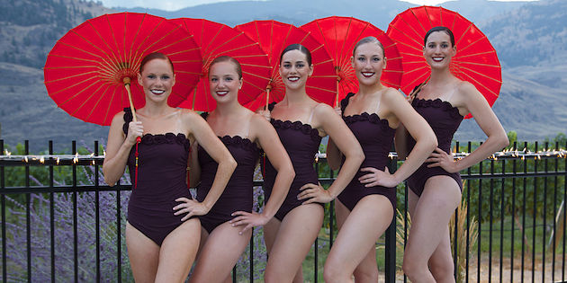 Winery hosts world's first water ballet
