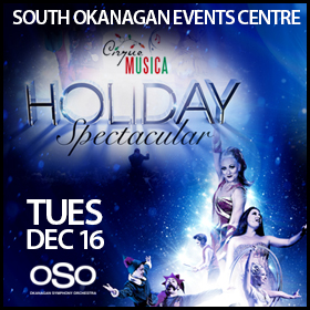 Cirque Musica with Okanagan Symphony Orchestra bring dazzling Holiday Spectacular