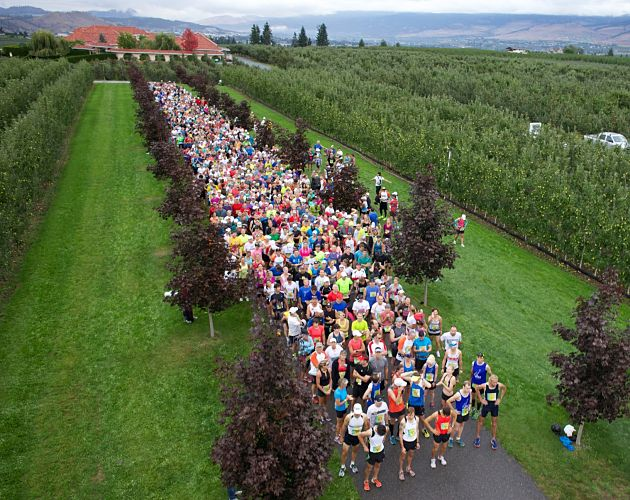 Kelowna Hosts Wine Country Marathon