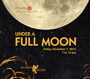Kelowna gallery fundraiser inspired by the full moon