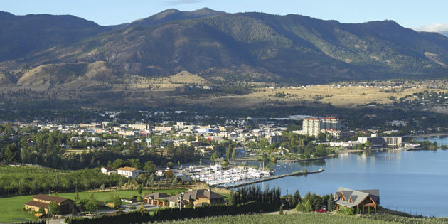 WestJet flys to wine country; inaugural Penticton flight