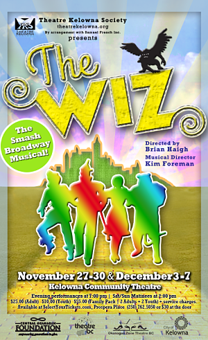 The Wiz- Theatre Kelowna