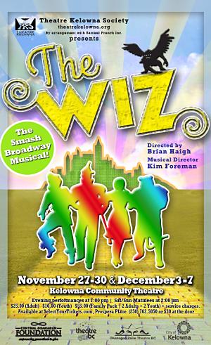 The Wiz- Theatre Kelowna