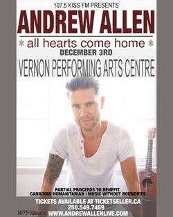 andrew-allen-christmas-concert-vernon