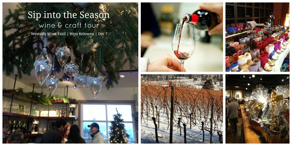 Winter wine events in the Okanagan