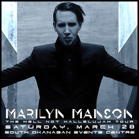 Okanagan: Marilyn Manson brings Hell Not Hallelujah Tour