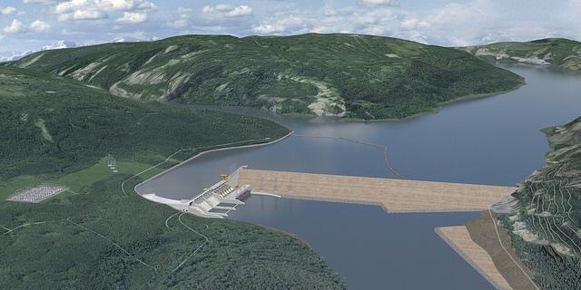 Site c BC Hydro Dam